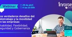 """Webinar """"Los verdaderos desafíos del Teletrabajo y la movilidad en las empresas"""""""